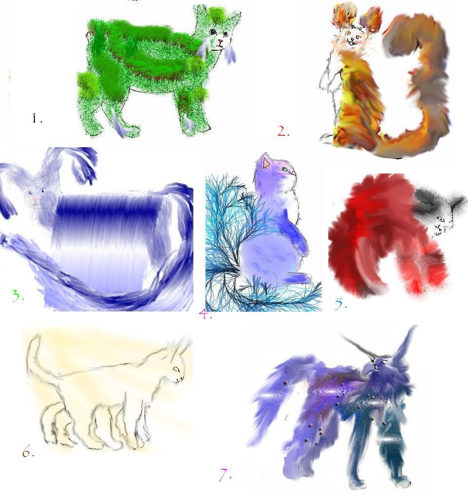 UNUSUAL KITTIES ADOPTION by Fluffybunny