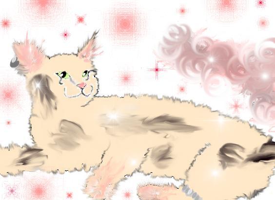 Mialee : Liadene's kitty by Fluffybunny