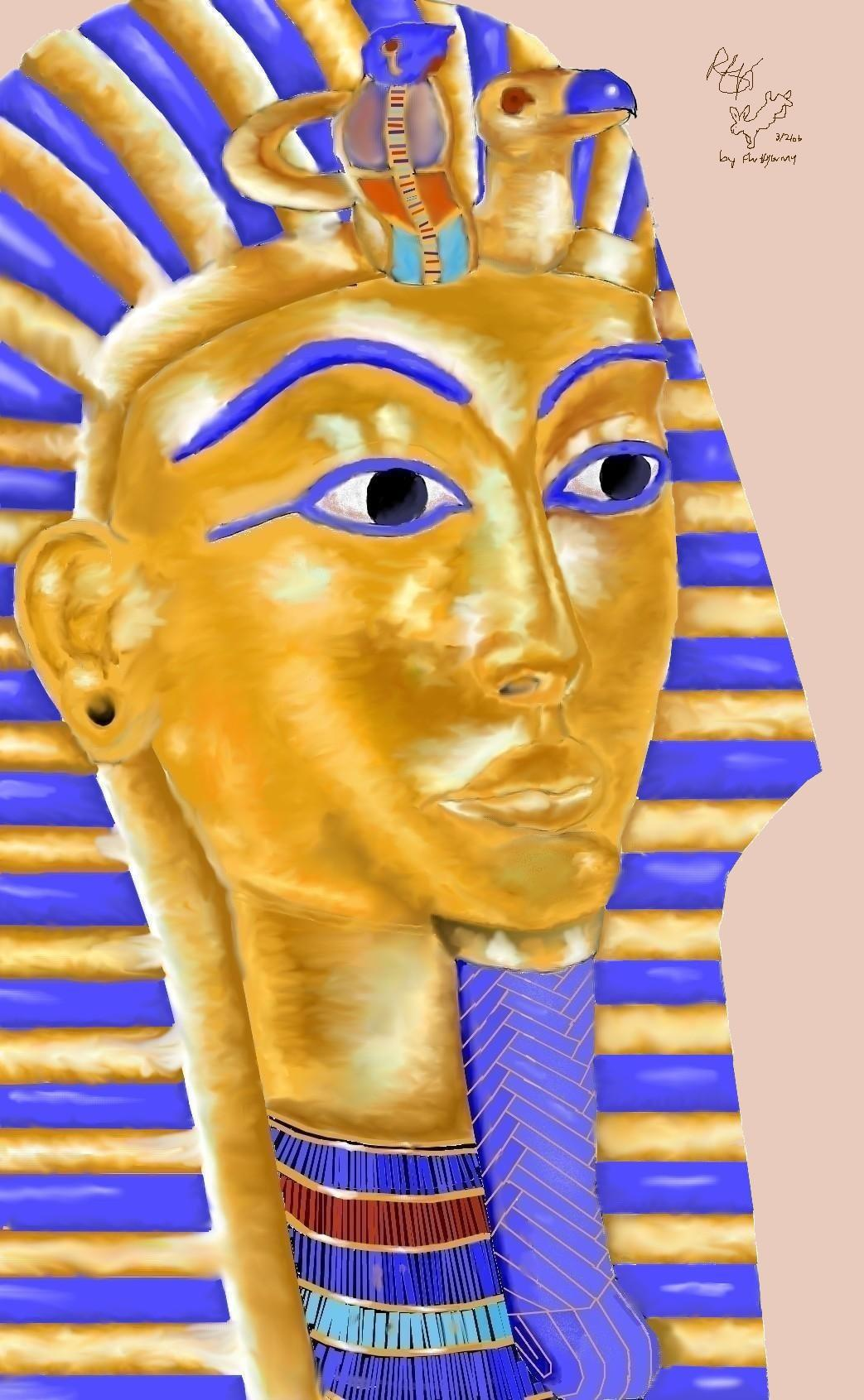 King Tutankhamum in all his glory! by Fluffybunny