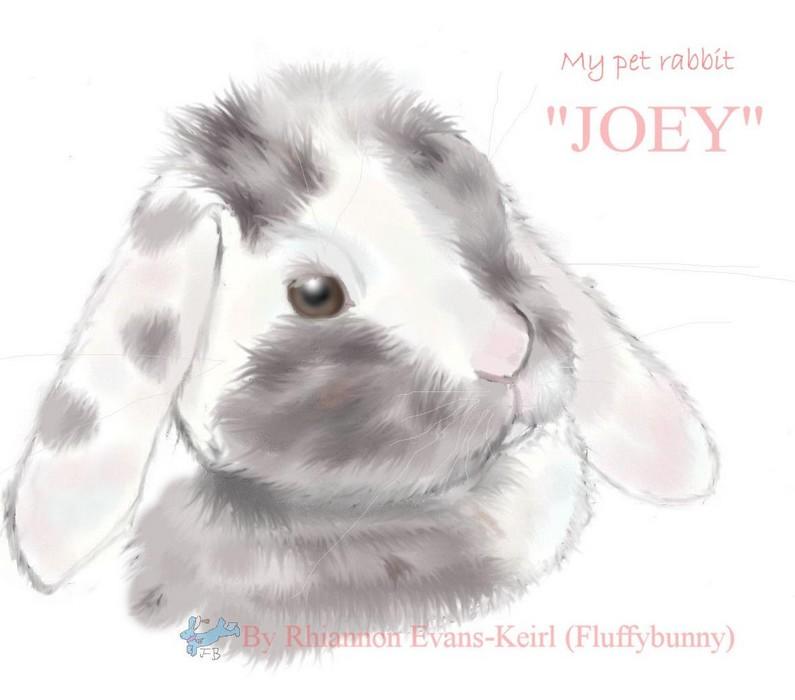 My little grumpy Joey by Fluffybunny