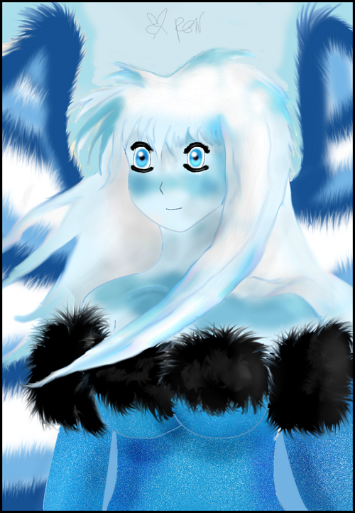 Icy Angel by Fluffybunny