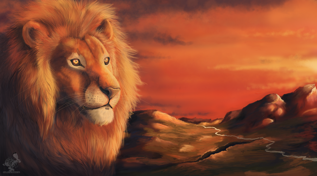 Gold Lion 2013 by Fluffybunny