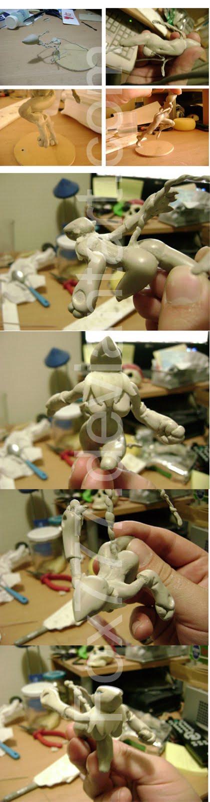 Renamon Sculpt by Fox7