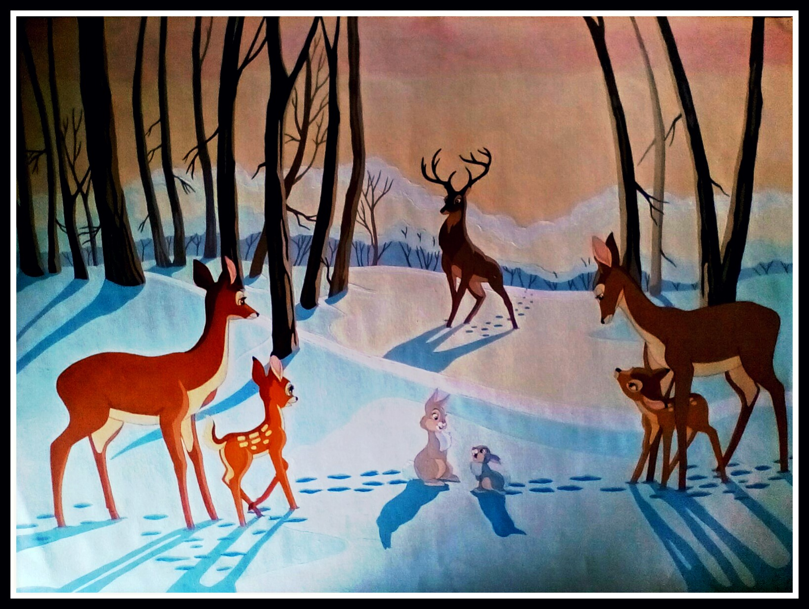 Bambi's Wintertime by FoxyFlapper