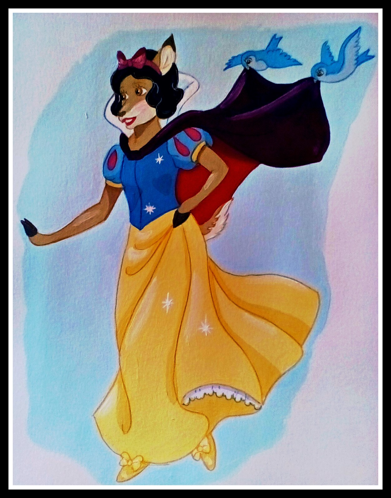 Snow White by FoxyFlapper