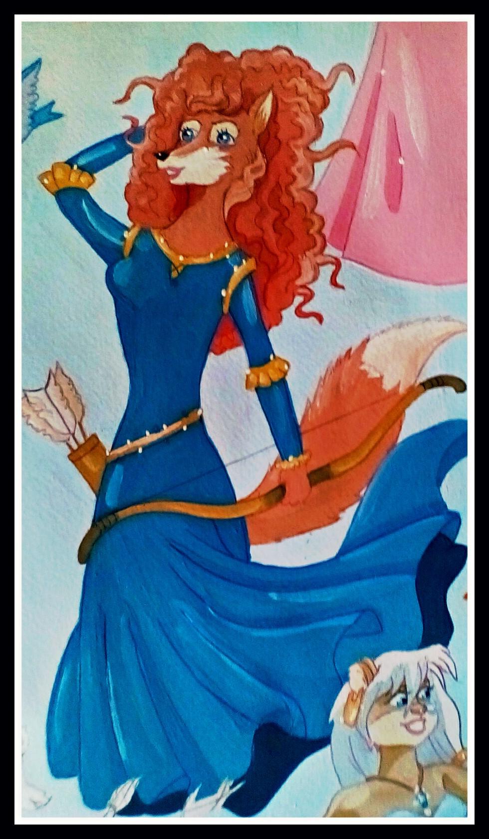 Merida by FoxyFlapper