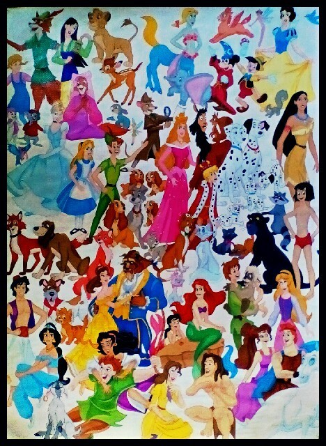 Disney Mania by FoxyFlapper