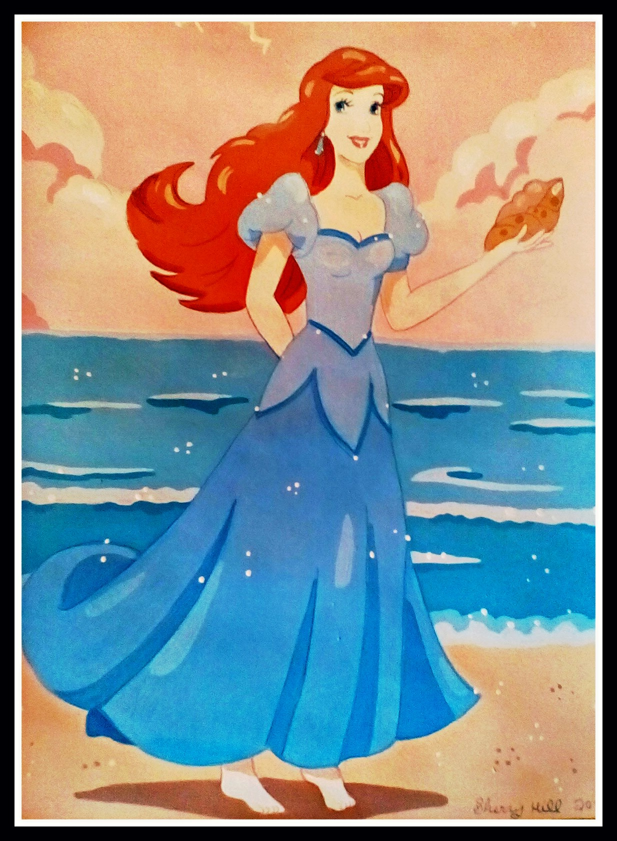 Ariel By The Sea by FoxyFlapper