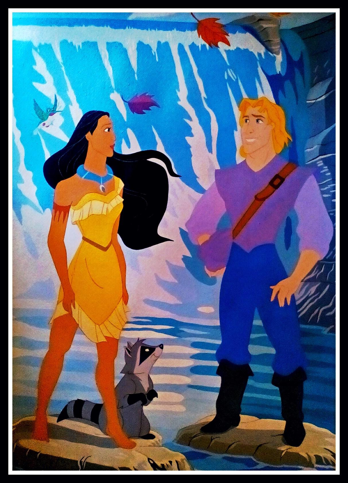 Pocahontas by FoxyFlapper