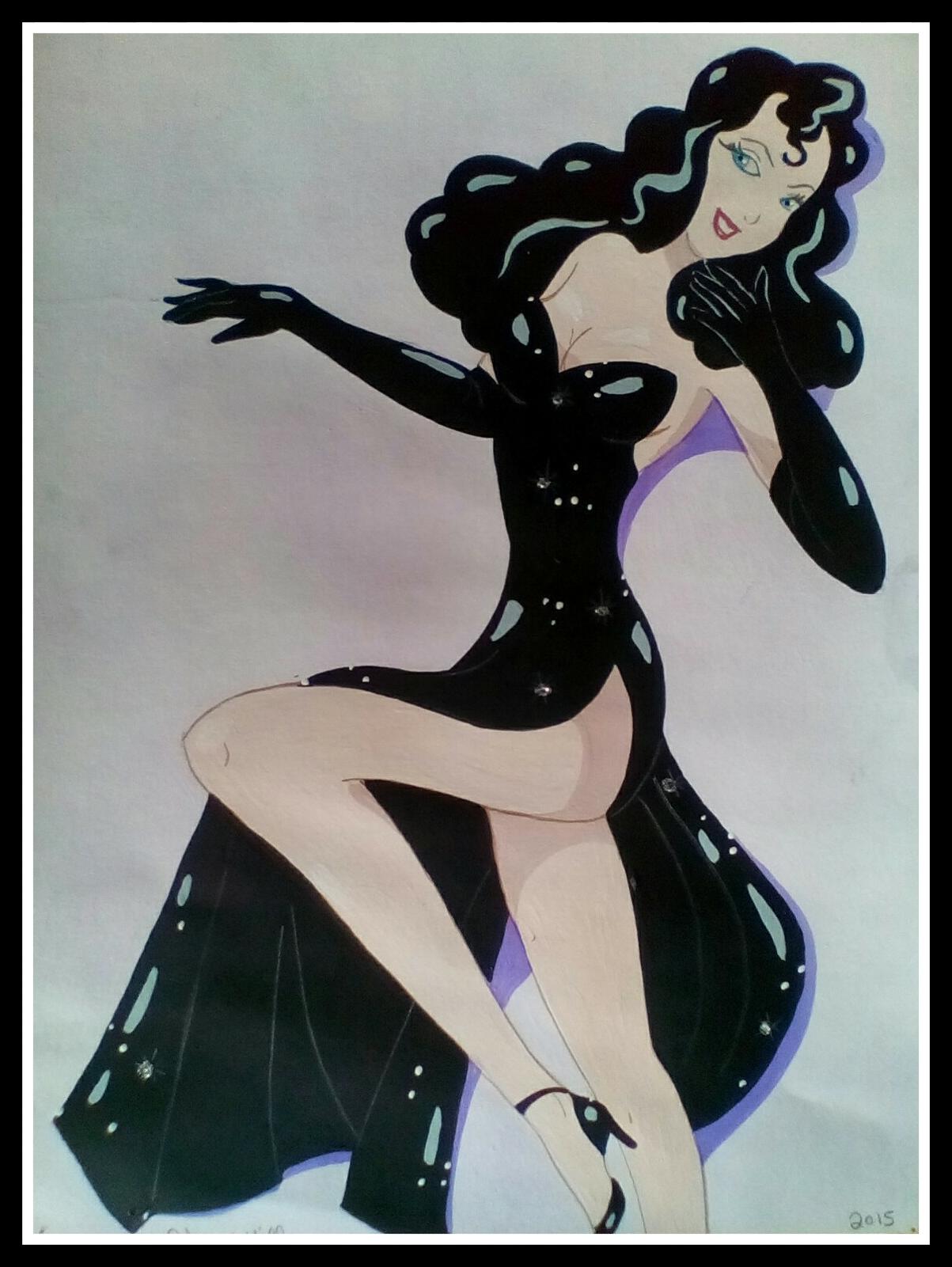 Femme Fatale by FoxyFlapper