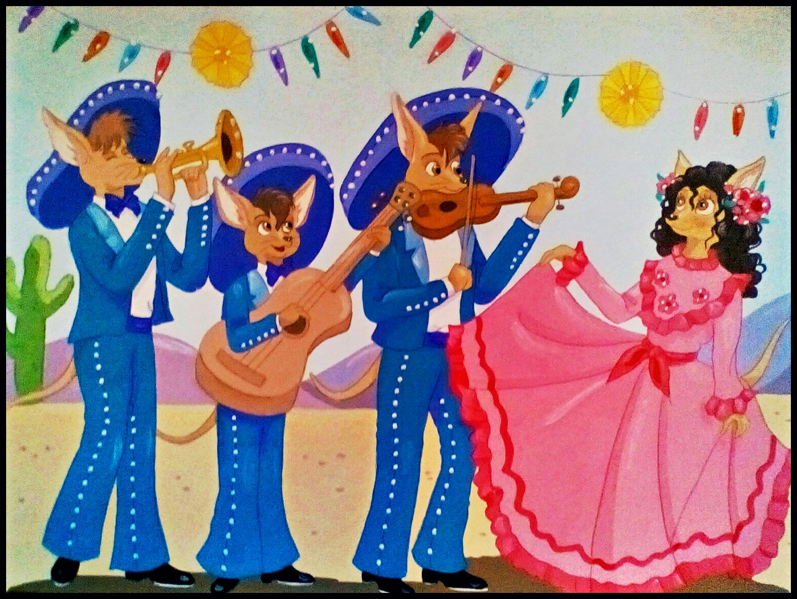 Marvelous Mariachis by FoxyFlapper