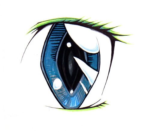 An eye by FudgemintGuardian