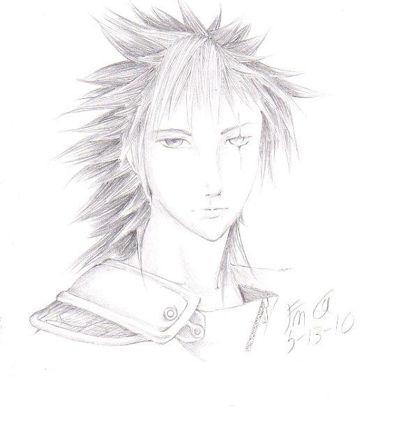 Random Bishi Hunk That Looks Like He Belongs in Final Fantasy by FudgemintGuardian