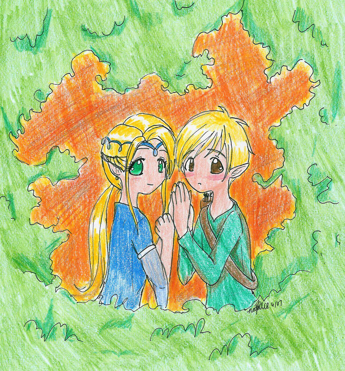 Elves (for jiggypiggy's contest) by Fumie716