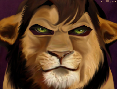 Kovu the Lion by Fyria