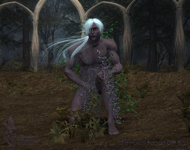 Drow Dude by fablespinner