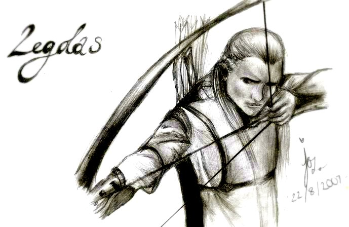 Legolas by fairywarrioress