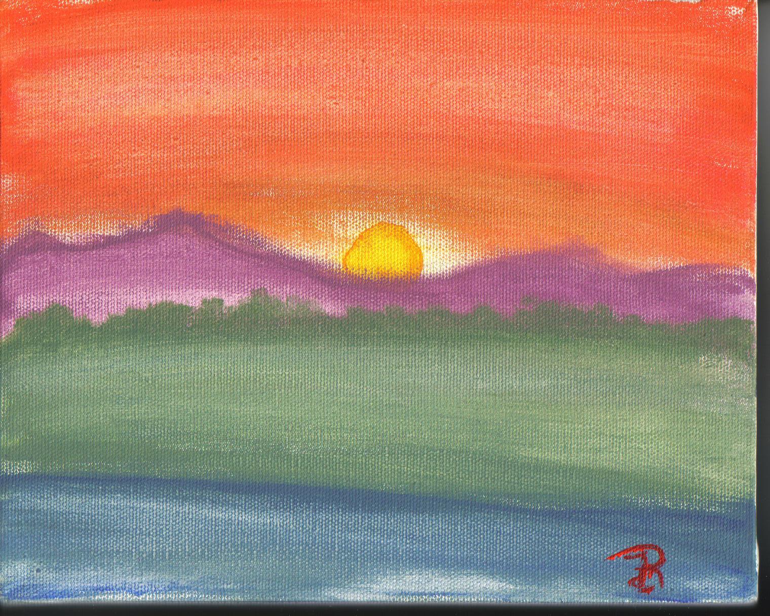sunset by fatherofthewolves