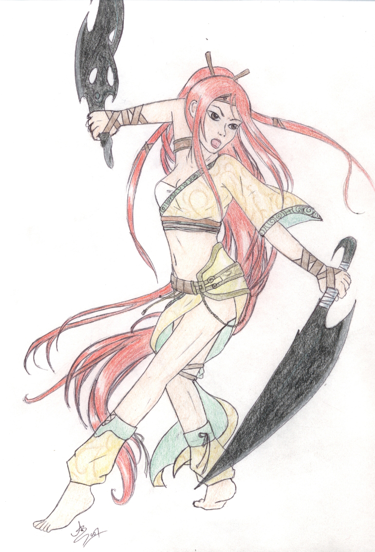 Heavenly Sword by fire_master_skye