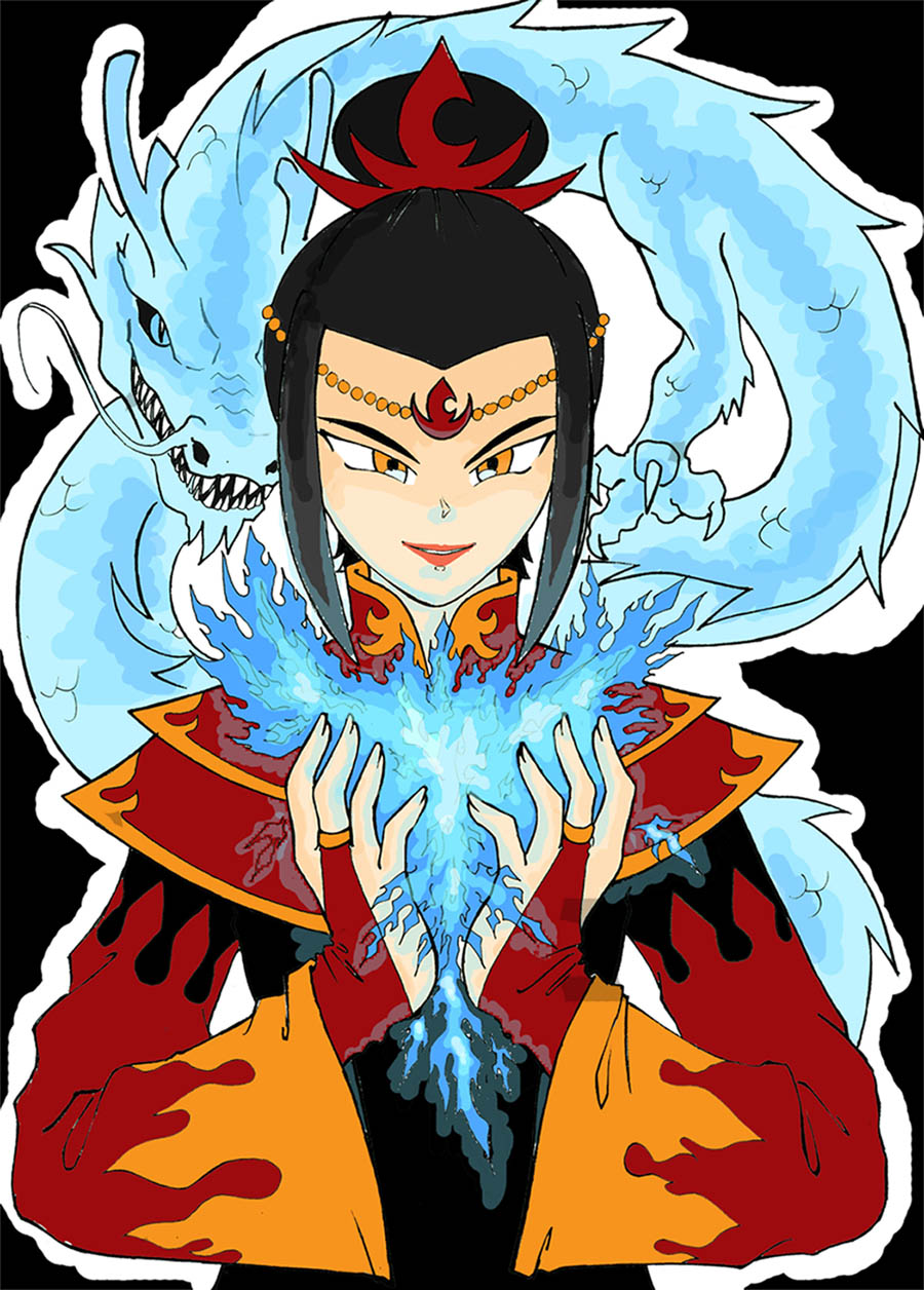 Fire Lord Azula by fishies