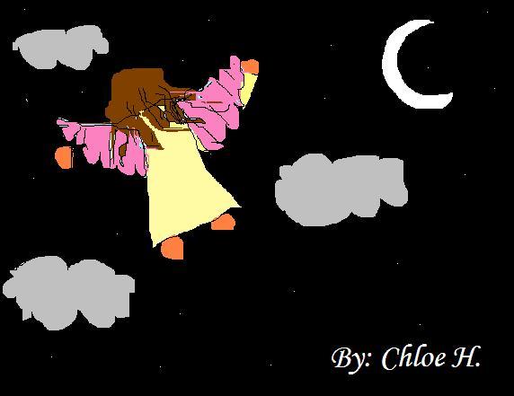 the night angel by fluffyrabbit777