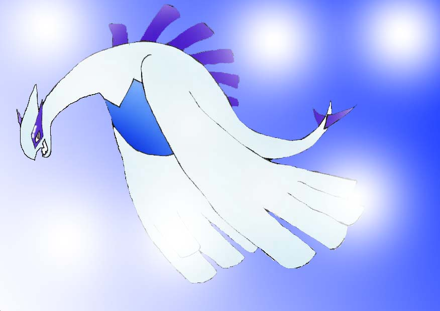 Lugia by flying_Jone