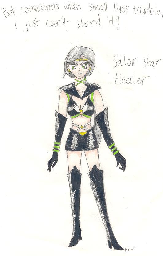 Sailor Star Healer by GEArtemis