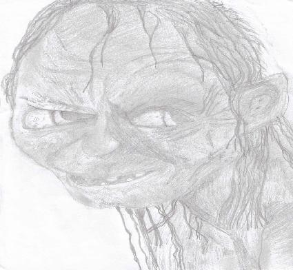 Gollum by G_lady24