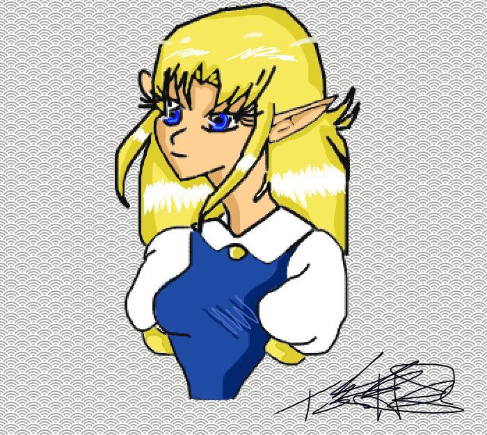 Princess Zelda by GaaraSakuraForever