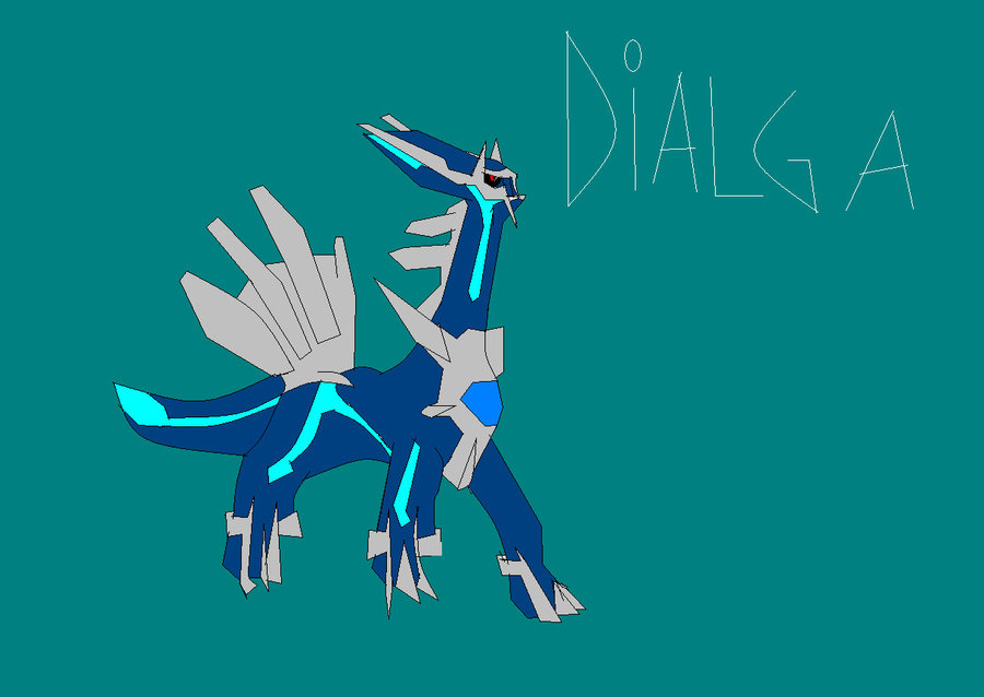 Dialga by GalacticSaturn