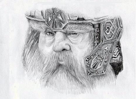 Gimli The Dwarf by Gameglitch
