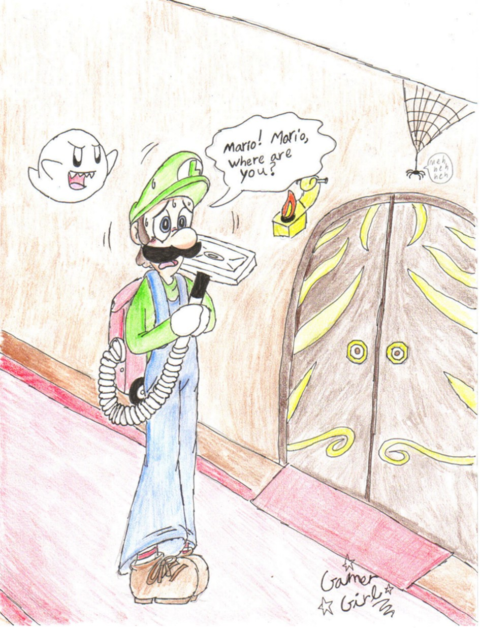 Mario where r u by Gamer_girl