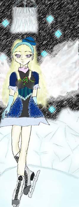Ice Fairy by GannysGirl