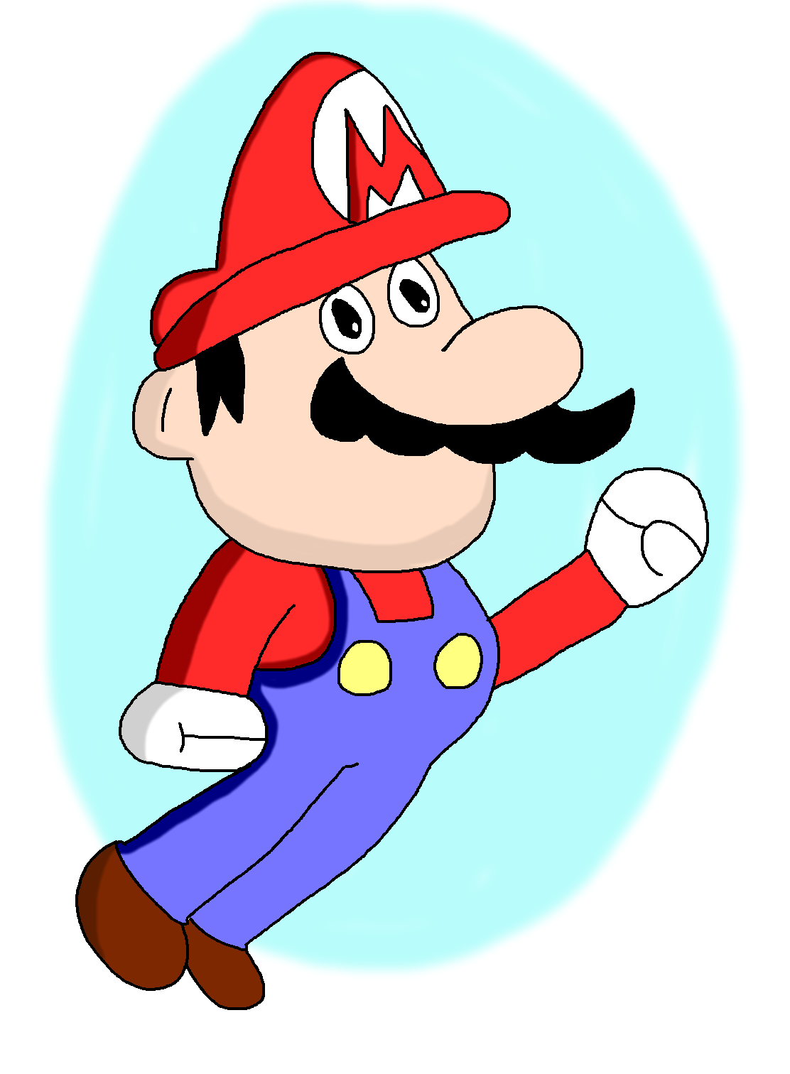 Super Mario!! by GarfieldTheCat2033
