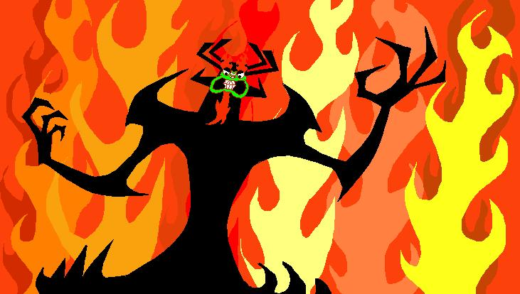 Aku, The Master Of Darkness by Gee