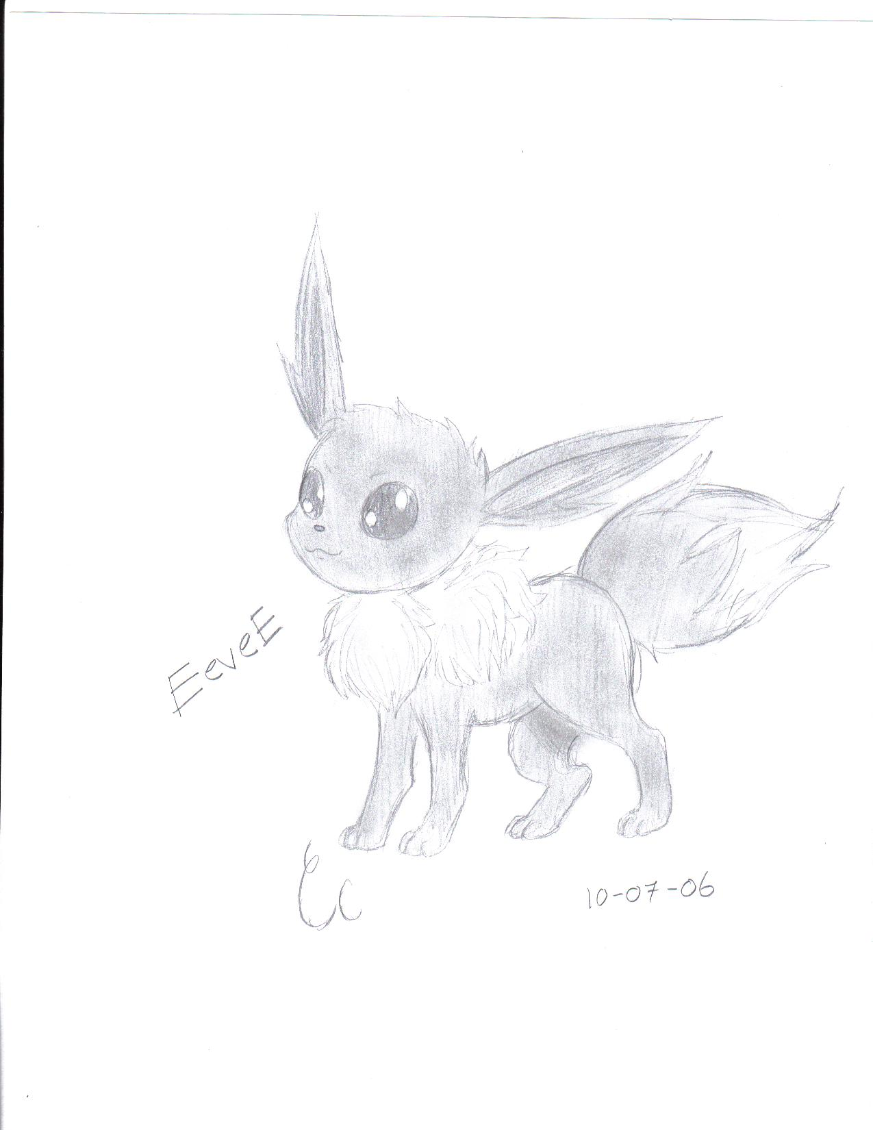 Cute Eevee by GemWist