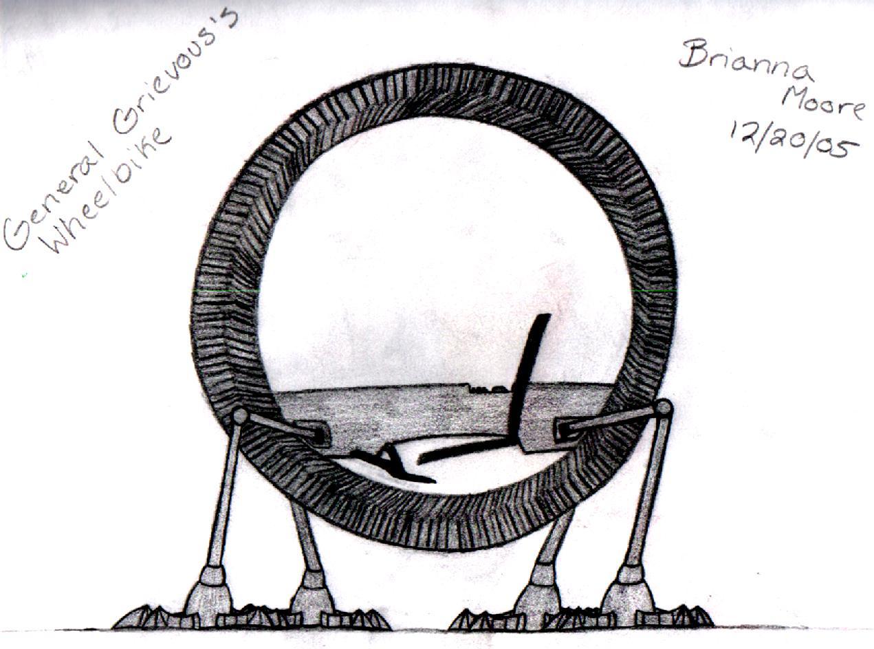 Grievous's Wheelbike by GeneralBrievous