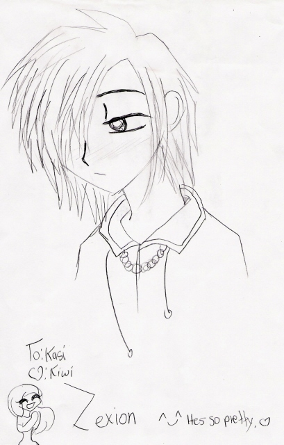 Zexion(more like Sexion^.^) by Gerardway2008