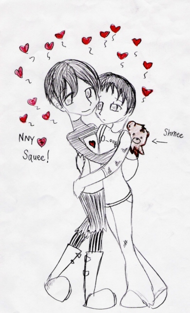 Squee Love by Gerardway2008
