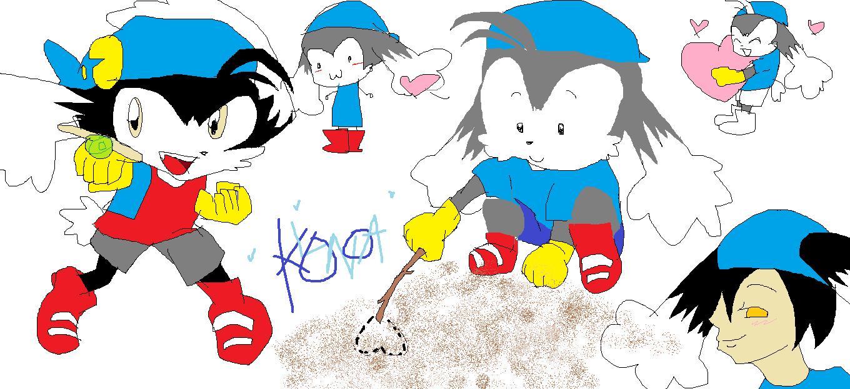 klonoa sketch dump! <33 by Gerardway2008