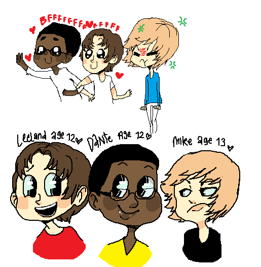 cutesy kids by Gerardway2008