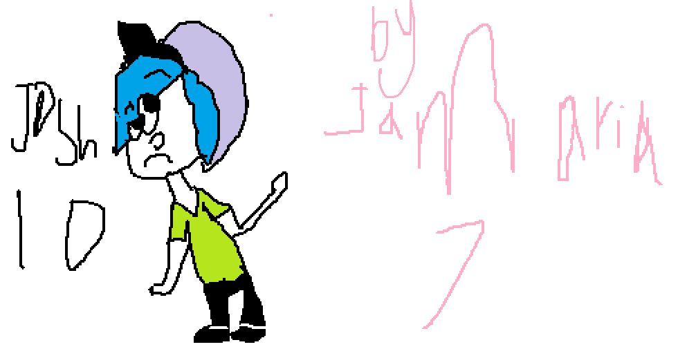 jamarias oc named josh <3 (the princess of laptop mouse ) by Gerardway2008