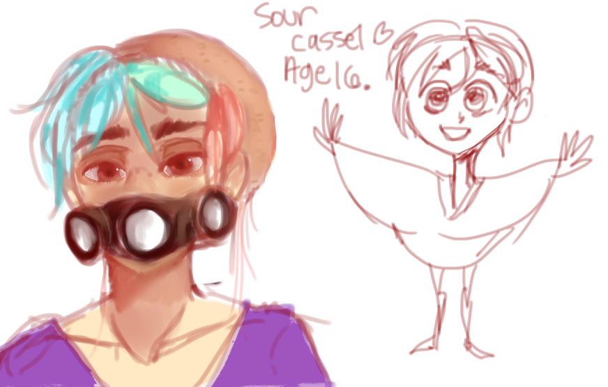 sour my cutie face by Gerardway2008