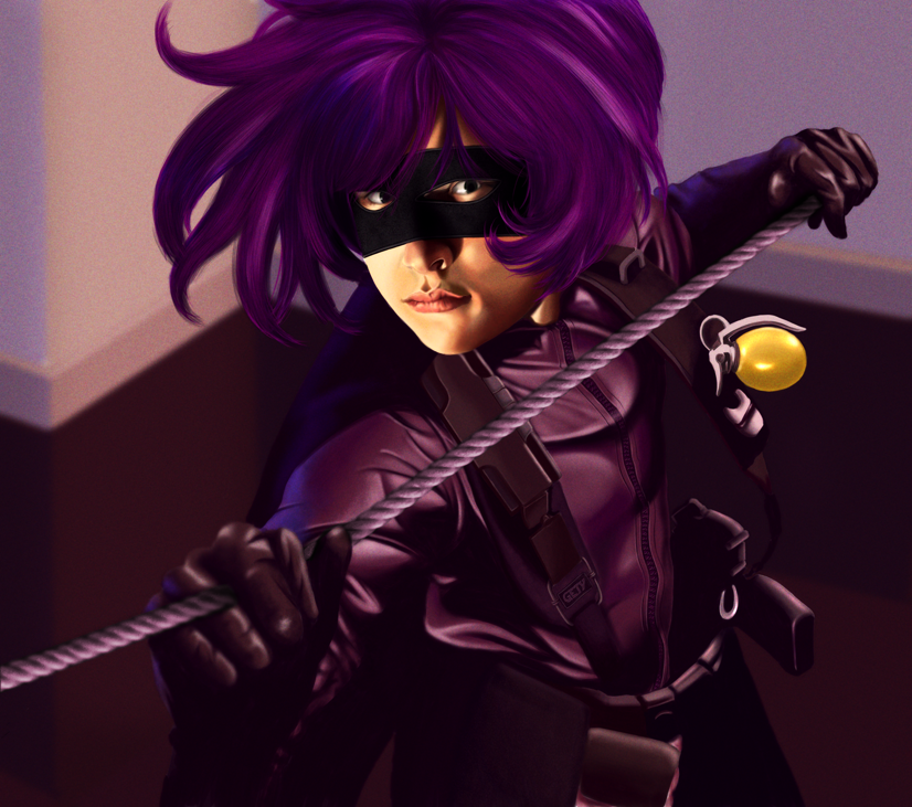 Hit Girl by Gety