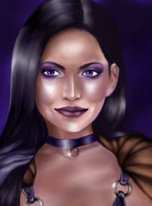 Villain Rebecca The Portrait by GoGo