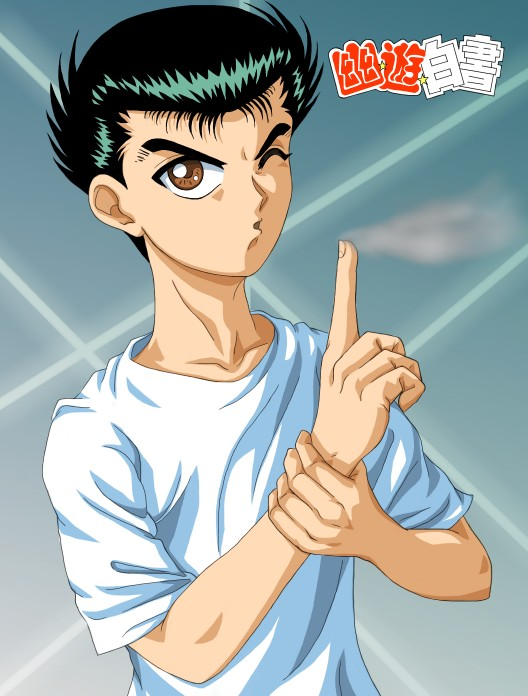 Yu Yu Hakusho Yusuke by Godaiking