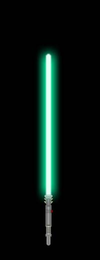 My Lightsaber (Teal) by GoldenRhydon