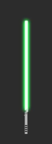 Lightsaber for Sakura_Sagara (lime green) by GoldenRhydon