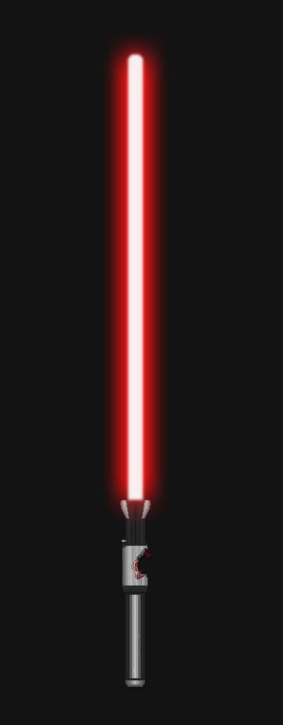 Darth Sion's Lightsaber (for MageNight007) by GoldenRhydon