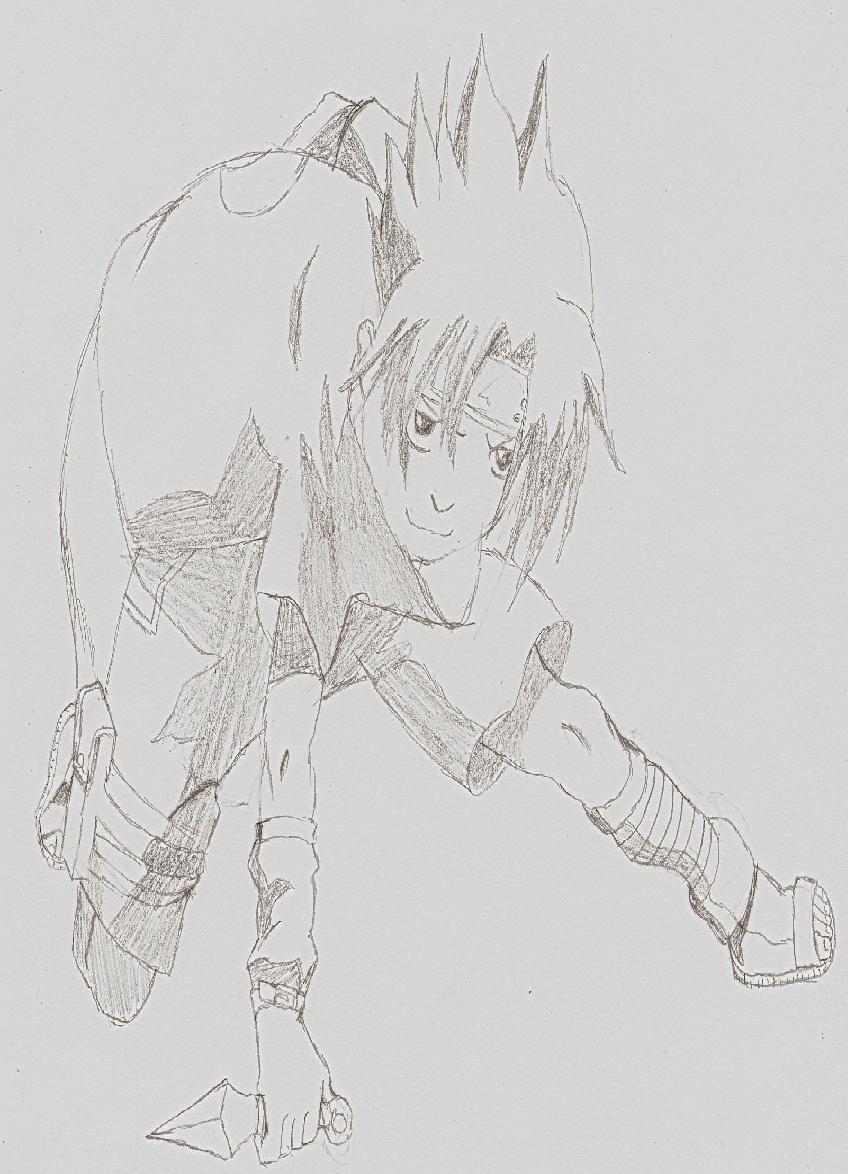 Sasuke 4 Sasuke4kun by Goldenlight